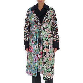 Junya Watanabe Jdc0050511 Femmes-apos;s Manteau de laine multicolore