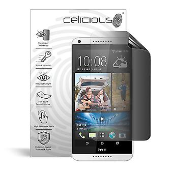 Celicious Privacy 2-Way Anti-Spy Filter Screen Protector Film Compatible with HTC Desire 816