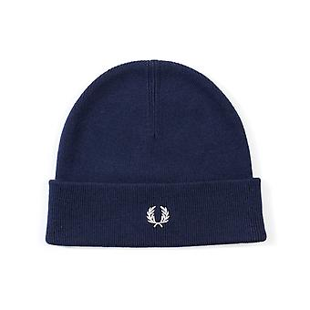 Fred Perry Navy Beanie