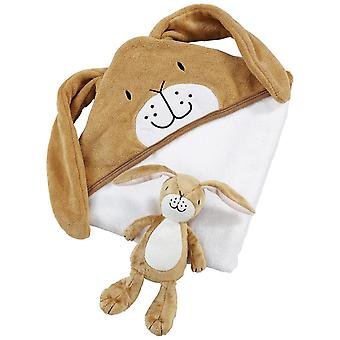 Rainbow Designs Guess How Much I Love You Soft Toy with Cuddle Robe Gift Set