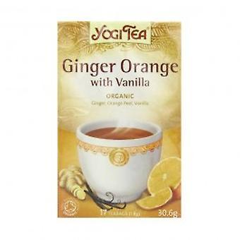 Yogi Tea - Ginger Orange & Vanilla Tea 17 Bags