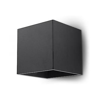 Seinävalaisin Quad 1 Musta