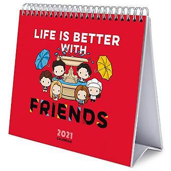 Friends Desktop Calendar 2021