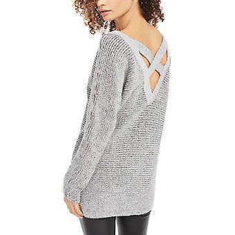 Bar III | Crisscross-Back Sweater Tunic