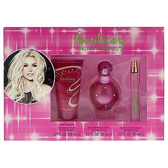 Britney Spears Fantasy Eau de Parfum 30ml, 10ml Geldbörse Spray & Body Lotion 50ml