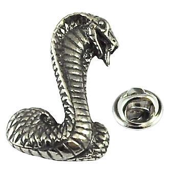 Ties Planet Snake Pewter Lapel Pin Badge