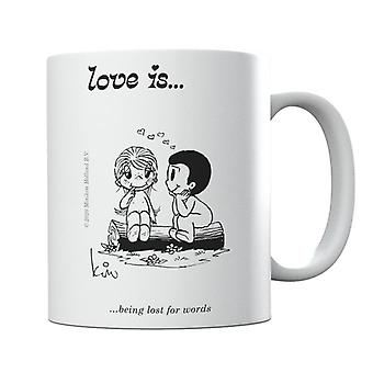 Love Is Being Lost For Words Mug