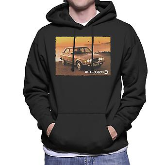 Austin Allegro 3 British Motor Heritage Men's Hooded Sweatshirt