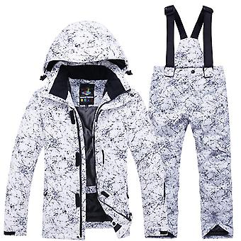 Girls / Ski Suit- Waterproof Thermal Winter Clothing's Ski Suits- 30 Degree