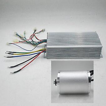 72v 3000w Brushless Motor Kit With 24 Mosfet 50a Controller For Electric