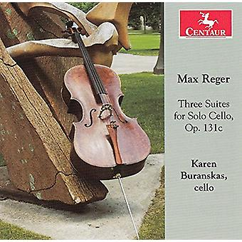 Reger - 3 Suites for Solo Cello [CD] USA import