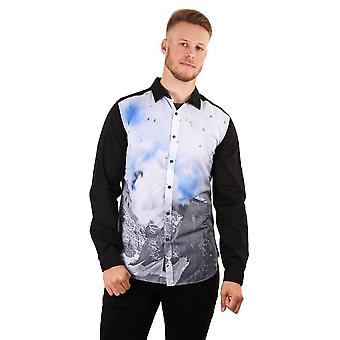 Diesel Mens Ls Shirt With Print