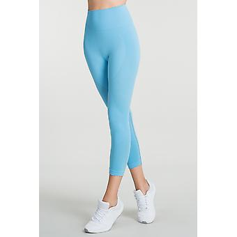 Jerf Womens Gela Light Blue Seamless Active leggings