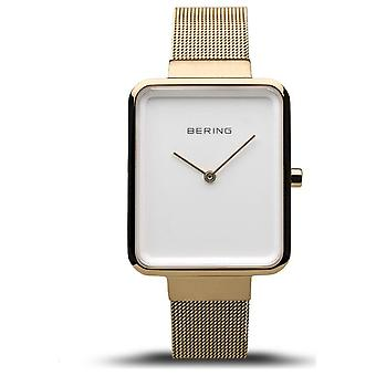 Bering - ساعة اليد - السيدات - كلاسيكية - الذهب المصقول / نحى - 14528-334