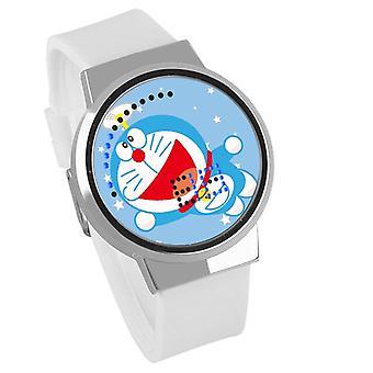 Wasserdichte Leuchten LED Digital Touch Kinder uhr - Doraemon #31