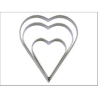 Tala tavallinen sydänleikkurit set x 3 10A09518