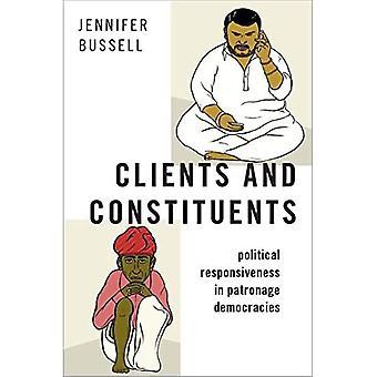 Clienti e Costituenti: Reattività politica nelle democrazie di patronato (Asia meridionale moderna)