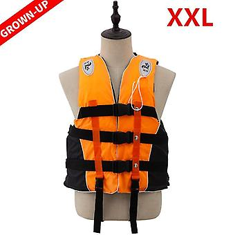 Adult Life Vest Jacket Swimming Boating Ski Survival Life Vest With Whistle