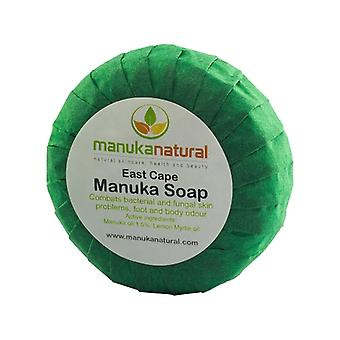 Manuka Soap - Cleansing Soap Infused With Natural Essential Oils - Combats Bacterial and Fungal Skin Problems and Body Odour with Natural Ingredients