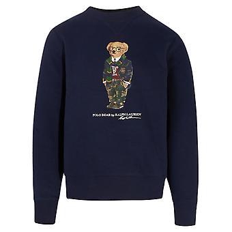 Ralph Lauren 710815190001 Men's Blue Cotton Sweatshirt