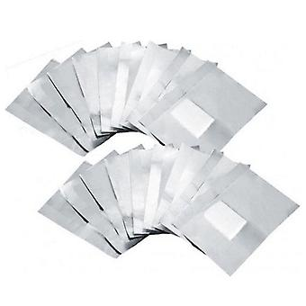 Nagellak Direct Foil Cotton Pad Remover Wraps (10 Pack)