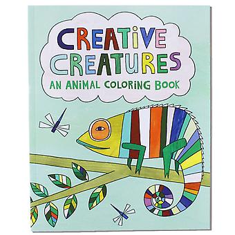 Creative Creatures An Animal Coloring Book