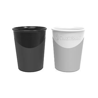 Twistshake Cup 170ml Black/white