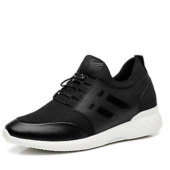 Men Height Increase Breathable Casual Lightweight Shoe Running, Gym,