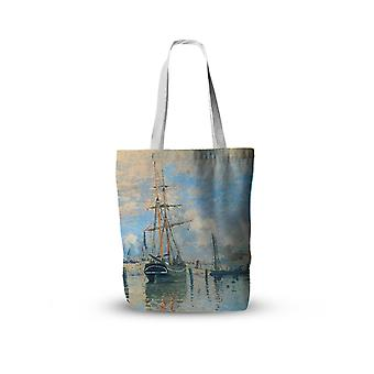 Van Gogh Oil Painting Canvas Tote Bag / Retro Art Fashion Travel Foldable