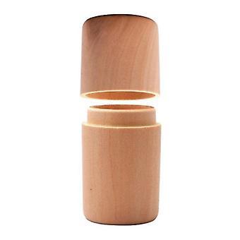 2X Wood Boxes Single Slot Essential Oils Bottles Storage Box Mini
