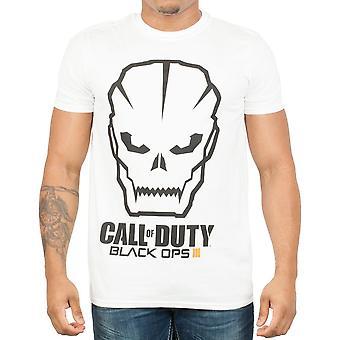 Call of duty black ops 3 men's white t-shirt tee shirt