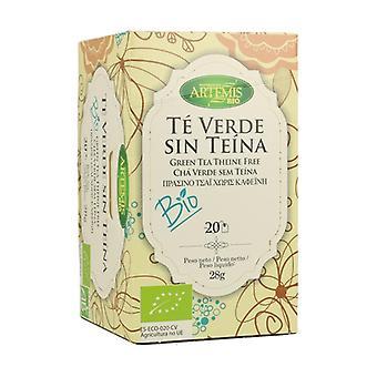 Grönt te utan Theine 20 enheter