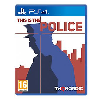 This Is The Police PS4 Game