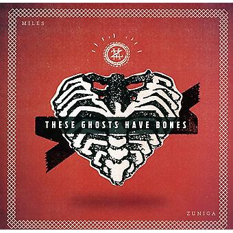 Miles Zuniga - These Ghosts Have Bones [CD] USA import