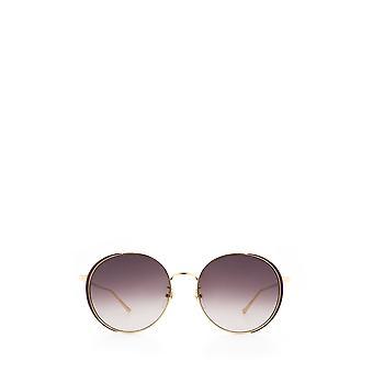 Gucci GG0401SK gold female sunglasses