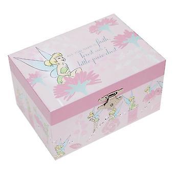 Disney Tinker Bell Musical Biżuteria Box