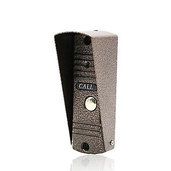 Bouton d'appel extérieur intercom de téléphone de porte, nuit de sonnette de sécurité de panneau d'appel