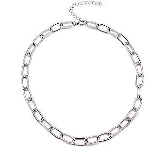 Box Kette Knebel Verschluss Halskette gemischt verknüpft Kreis Halsketten