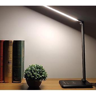 Lampe de bureau led (noir 5 couleurs Plug In)