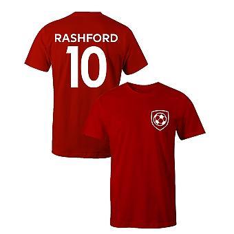 Marcus Rashford 10 Koszulka piłkarska piłkarza w stylu klubowym