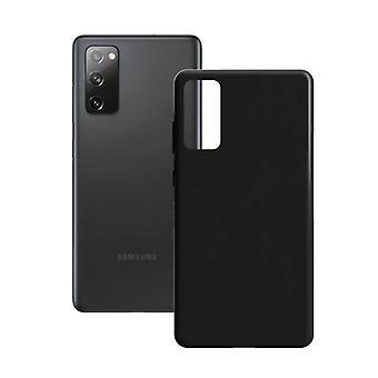 Mobiilikansi Samsung Galaxy S20 FE 5G KSIX Silk TPU Musta