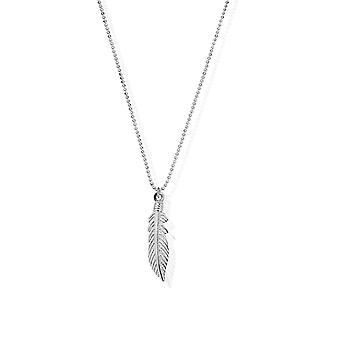 ChloBo Diamond Cut Chain With Feather Pendant SCDC2717