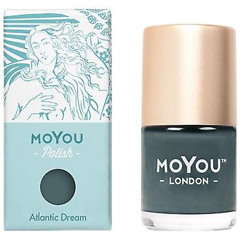 MoYou London Stamping Nail Lacquer - Atlantic Dream 9ml (MN152)