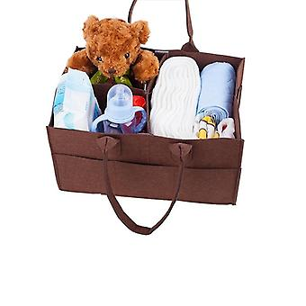 Baby Diaper Caddy Organizer Baby Portable Holder For Changing Table Car Nappy