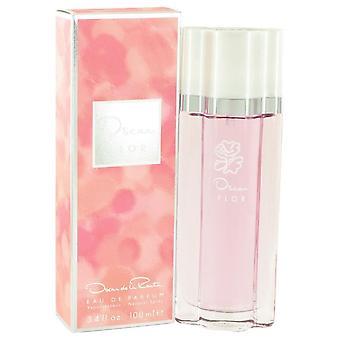 Oscar Flor Eau De Parfum Spray By Oscar De La Renta 3.4 oz Eau De Parfum Spray