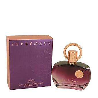 Supremacy Pour Femme Eau De Parfum Spray By Afnan 3.4 oz Eau De Parfum Spray