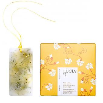 Lucia - Scented Wax Tablets-tea Leaf & Wild Honey