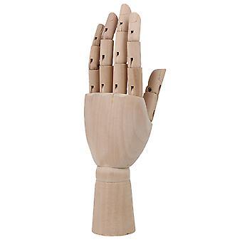 7,28 tommers trekunstner artikulert venstre hånd manikin gave kunst modell hånd leketøy