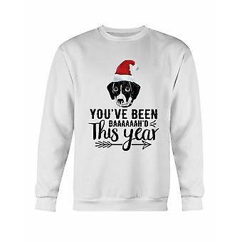 You've Been Baaah'd This Year Christmas Sweatshirt