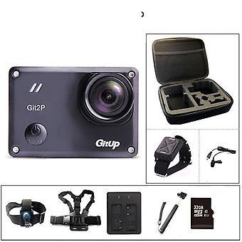 Action Camera, Remote Ultra Hd, Wifi, Waterproof Pro